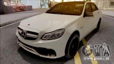 Mercedes-Benz E63 AMG W212 White für GTA San Andreas