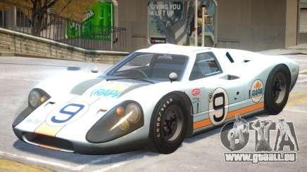 1967 Ford GT40 V1 PJ6 für GTA 4