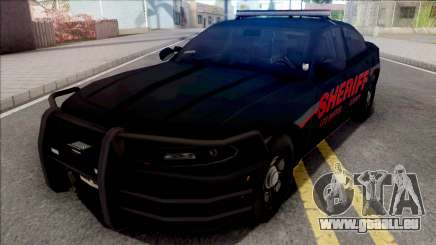 Dodge Charger LSSD Low Poly pour GTA San Andreas