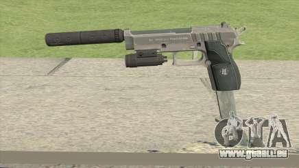 Hawk And Little Pistol GTA V Black (Old Gen) V3 pour GTA San Andreas