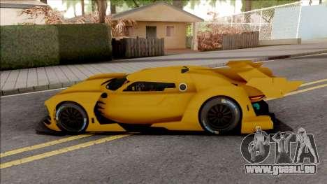 Citroen GT-LM IVF Style pour GTA San Andreas