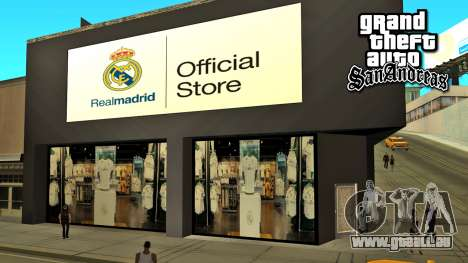 Le Real Madrid Store pour GTA San Andreas