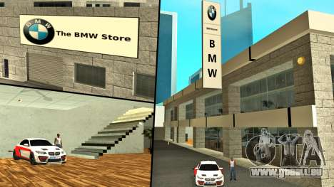 2019 concession BMW (BMW Store) pour GTA San Andreas