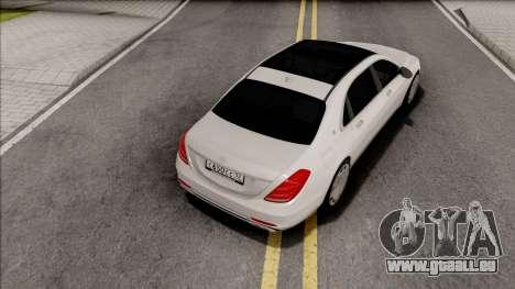 Mercedes-Maybach S650 pour GTA San Andreas