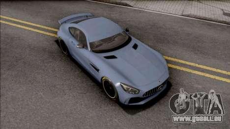 Mercedes-AMG GT R 2019 pour GTA San Andreas