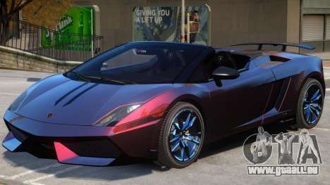Gallardo Spyder Performante pour GTA 4