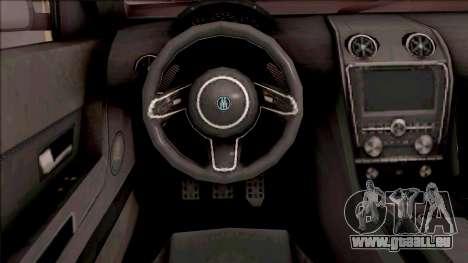 GTA V Ubermacht Rebla GTS Stock pour GTA San Andreas