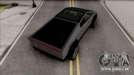 Tesla Cybertruck 2020 Low Poly pour GTA San Andreas