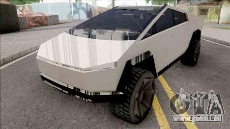 Tesla Cybertruck 2019 pour GTA San Andreas