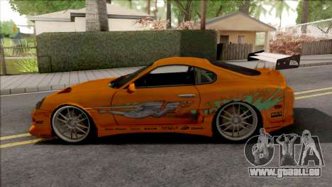 Toyota Supra Fast & Furious with O.Z Wheel pour GTA San Andreas
