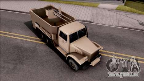 GTA V Bravado Half-Track SA Style für GTA San Andreas
