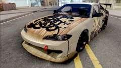 Nissan Silvia S15 Vinland Saga Paintjob