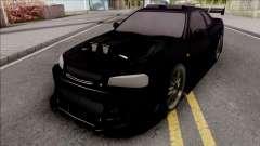 Nissan Skyline GT-R Tuning Bodykit für GTA San Andreas
