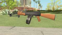AK47 With Drum Magazine für GTA San Andreas