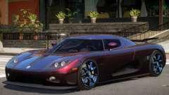 Koenigsegg CCXR M7 pour GTA 4