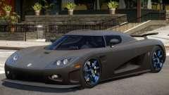 Koenigsegg CCXR Carbon pour GTA 4
