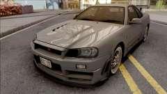 Nissan Skyline GT-R R34 2000 Omori Factory S1 pour GTA San Andreas