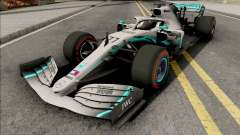 Mercedes-AMG F1 W10 2019 (C4 Tyres Red)