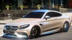 Mercedes Benz C63 V1.2 pour GTA 4