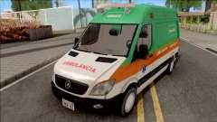 Mercedes-Benz Sprinter 2013 Ambulancia v3 für GTA San Andreas