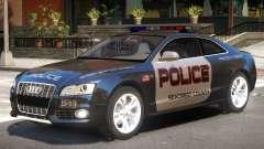 Audi S5 Police V1 pour GTA 4