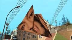 Philip in der form einer Pyramide-origami für GTA San Andreas