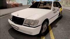Mercedes-Benz S600L W140 Yandex Taxi White