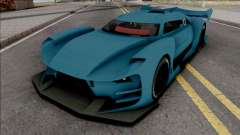 Citroen GT-LM SA Style pour GTA San Andreas