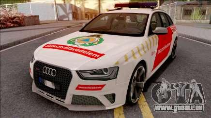 Audi RS4 Avant Hungarian Fire Department pour GTA San Andreas