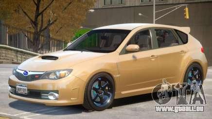 Subaru Impreza WRX STI Hatchback pour GTA 4