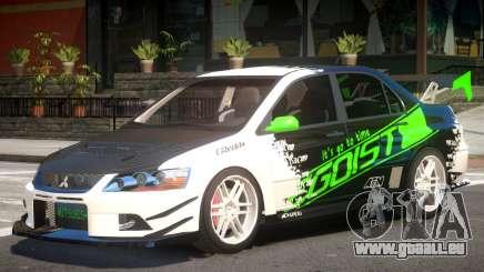 Lancer Evo IX Tuning pour GTA 4