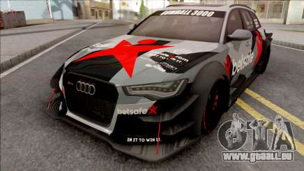 Audi RS6 2015 DTM Gumball 3000 pour GTA San Andreas