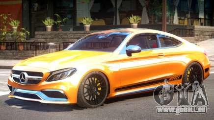 Mercedes Benz C63S V1 pour GTA 4
