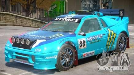 Ford RS200 Drift V1 PJ4 pour GTA 4