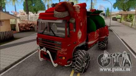 DAF XF Christmas Truck für GTA San Andreas