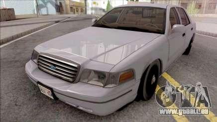 Ford Crown Victoria Civil RHA pour GTA San Andreas
