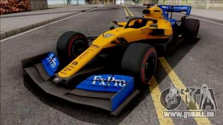 McLaren MCL34 F1 2019 pour GTA San Andreas