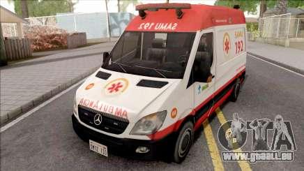 Mercedes-Benz Sprinter 2013 Ambulancia pour GTA San Andreas