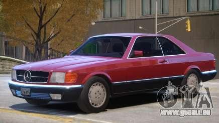 1987 Mercedes W126 R2 für GTA 4