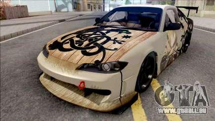 Nissan Silvia S15 Vinland Saga Paintjob pour GTA San Andreas