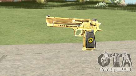 Desert Eagle Gold (French Armed Forces) pour GTA San Andreas