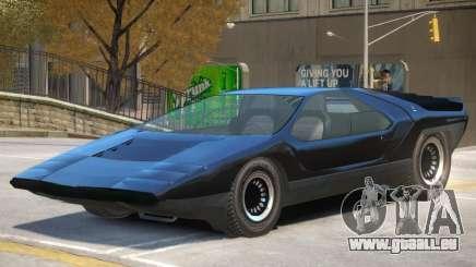 Alfa Romeo Carabo V1 pour GTA 4