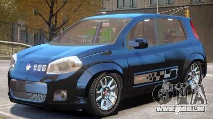 Fiat Novo Uno V1 pour GTA 4