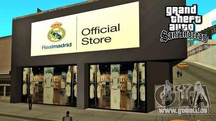 Real Madrid Store für GTA San Andreas