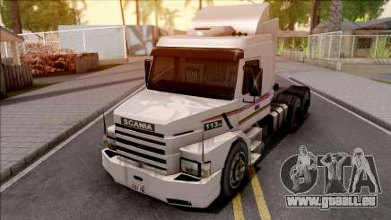 Scania 113H White für GTA San Andreas