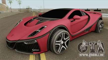 GTA Spano 2015 IVF pour GTA San Andreas