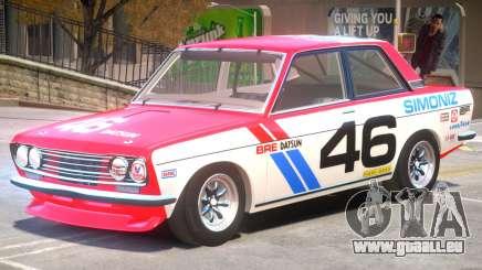 1971 Datsun Bluebird V1 PJ1 für GTA 4