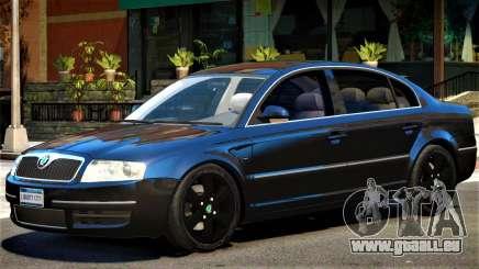 Skoda SuperB V1 für GTA 4