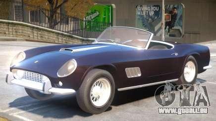 1957 Ferrari 250 California pour GTA 4