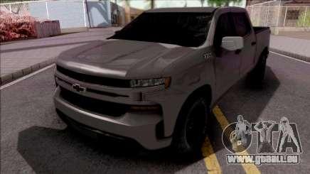 Chevrolet Silverado 2019 pour GTA San Andreas
